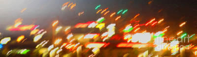 Photograph - Night Lights by Donna L Munro
