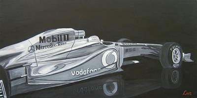 Night Race Art Print