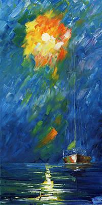 Night Sail Original by Ash Hussein