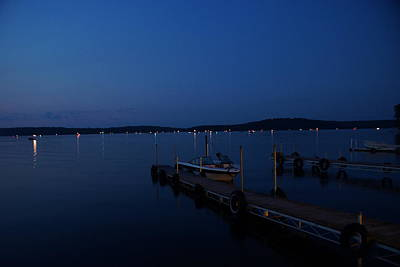 Photograph - Night Time On The Lake by Ron Read