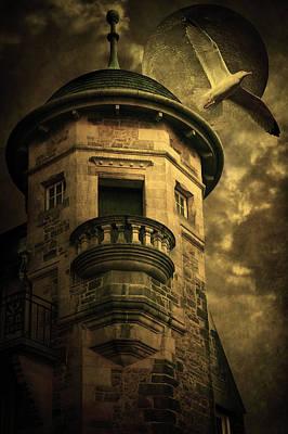 Night Tower Art Print by Svetlana Sewell