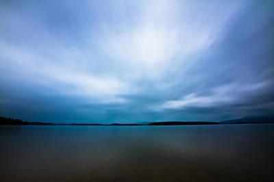 Photograph - Nightfall On The Lake II by Robert Clifford