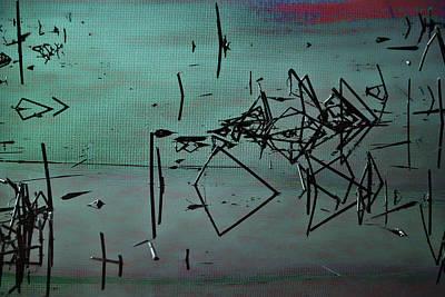 Nightfall Over The Wetlands Art Print by Bonnie Bruno