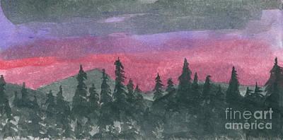 Nightfall Art Print by R Kyllo