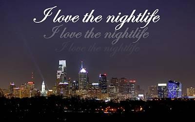 Photograph - Nightlife by Deborah  Crew-Johnson