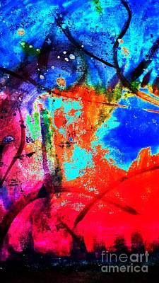 Digital Art - Nighttime Festivities by Angela L Walker