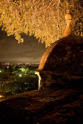 Photograph - Nighttime Overlook by Van Corey