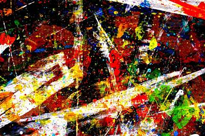 Abstract Expressionism Painting - Nighttown Ix by John  Nolan