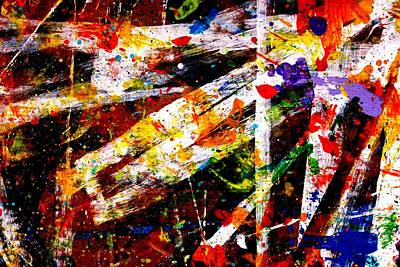 Abstract Expressionism Painting - Nighttown Vii by John  Nolan