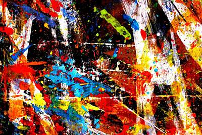 Abstract Expressionism Painting - Nighttown Viii by John  Nolan