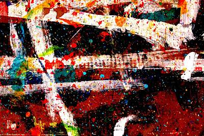 Abstract Expressionism Painting - Nighttown Xi by John  Nolan