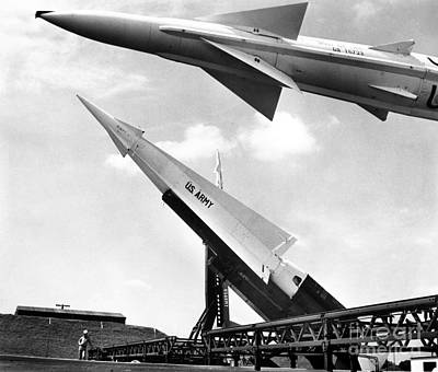 Photograph - Nike Missile, C1959 by Granger