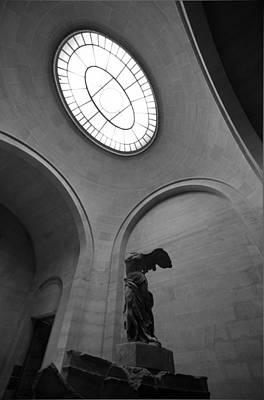 Greek Goddess Nike Photograph - Nike Reached The Light by Mustafa Otyakmaz