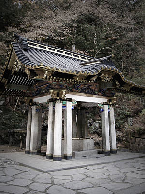 Samurai Photograph - Nikko Architecture by Naxart Studio
