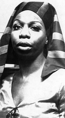 Nina Simone, 1978 Art Print by Everett