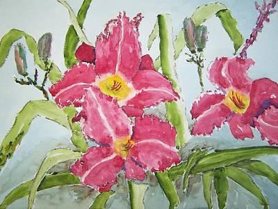 Nine Blooms Art Print by James Cox