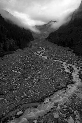 Photograph - Nisqually River Mt Rainier by Pierre Leclerc Photography