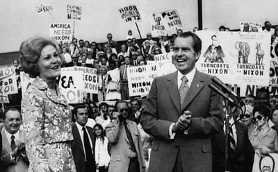 Nixon Presidency.  First Lady Patricia Art Print by Everett