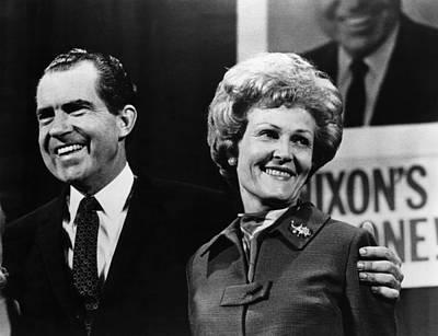 Nixon Presidency. Us President-elect Art Print by Everett