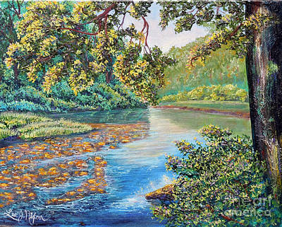 Painting - Nixon's A Sunny Day On The Rapidan by Lee Nixon