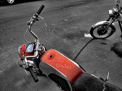 Photograph - No Brakes by Bennie Reynolds