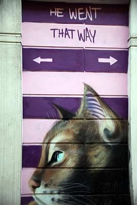 No Dogs Art Print by Jez C Self