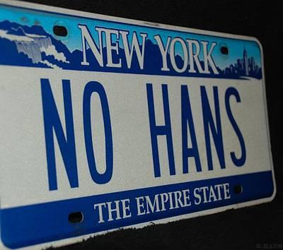 No Hans Art Print by Rob Hans