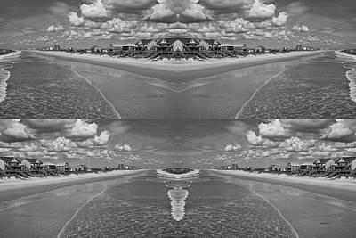 Topsail Island Beach Digital Art - No Limits by Betsy Knapp