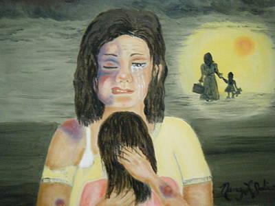 Mental Painting - No More by Nancy L Jolicoeur