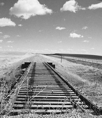 Photograph - No More Rails by HW Kateley