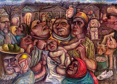 Vladimir Feoktistov Painting - No Name Vi by Vladimir Feoktistov