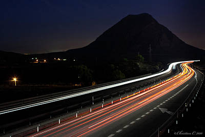 Alicante Photograph - No Speed Limits by Christian Callejas