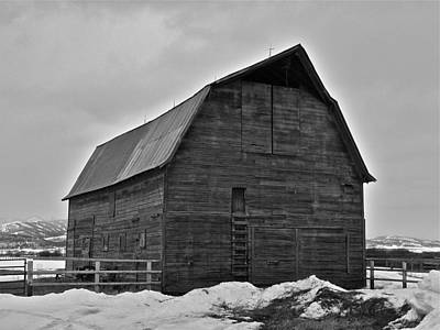 Art Print featuring the photograph Noble Barn by Eric Tressler