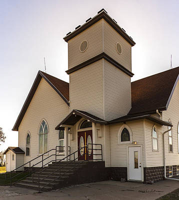 Photograph - Noble Church by Edward Peterson