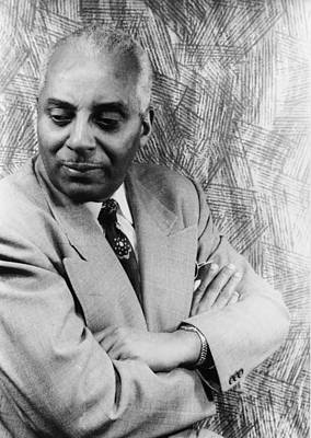 1950s Music Photograph - Noble Sissle 1889-1975, American Jazz by Everett