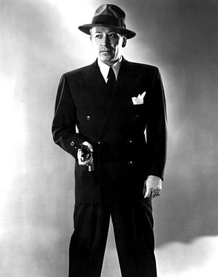 Falcondvd19 Photograph - Nocturne, George Raft, 1946 by Everett