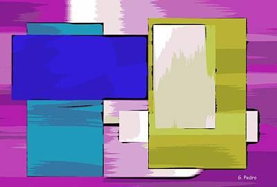 Algorithmic Painting - Nombre Abstrait 11 by George Pedro
