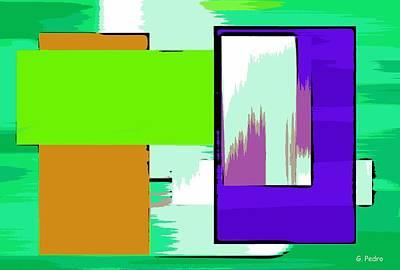 Algorithmic Painting - Nombre Abstrait 14 by George Pedro