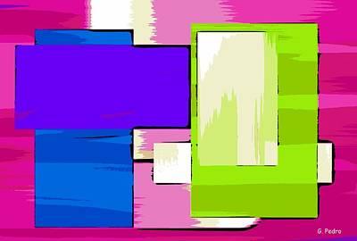 Algorithmic Painting - Nombre Abstrait 17 by George Pedro