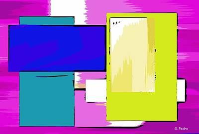 Algorithmic Painting - Nombre Abstrait 18 by George Pedro