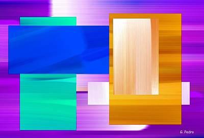 Algorithmic Painting - Nombre Abstrait 7 by George Pedro