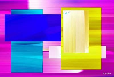 Algorithmic Painting - Nombre Abstrait 8 by George Pedro