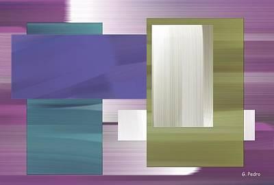 Algorithmic Painting - Nombre Abstrait 9 by George Pedro