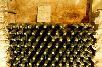 Wine Cellar Photograph - Nome Del Vitigno by John Galbo