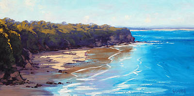 Central Coast Wall Art - Painting - Norah Head Australia by Graham Gercken