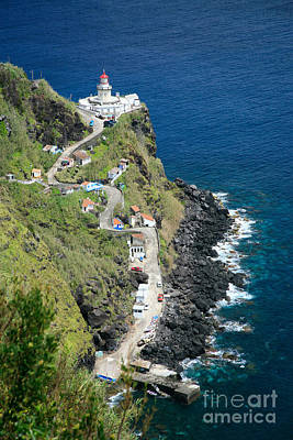 Nordeste Lighthouse - Azores Art Print