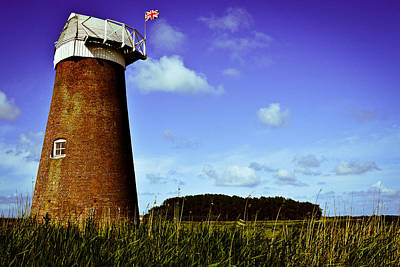England Photograph - Norfolk Windmill by Ruth MacLeod