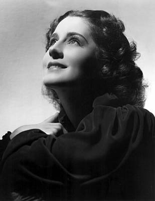 Hurrell Photograph - Norma Shearer By Hurrell, 22536 by Everett