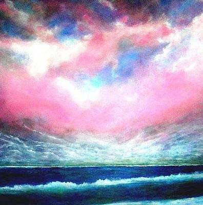 Painting - North Atlantic Ocean by Marie-Line Vasseur