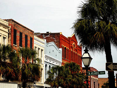Downtown Photograph - North Atlantic Wharf Charleston by Colin Clancy